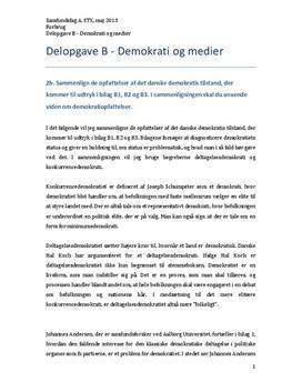 demokratiopfattelser