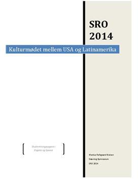 SRO: Kulturmødet mellem USA og Latinamerika