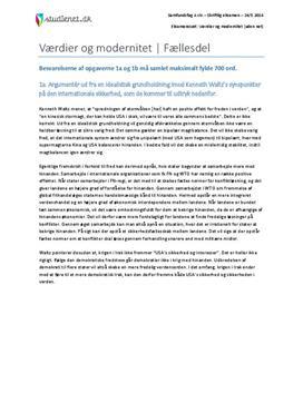 Værdier og modernitet fællesdel samfundsfag