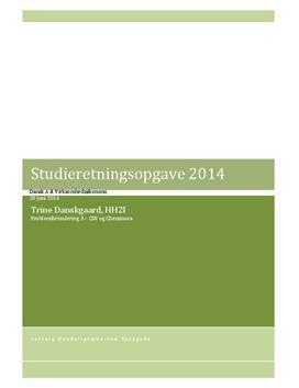SRP om CSR og Cheminova   Dansk A & Virksomhedsøkonomi A