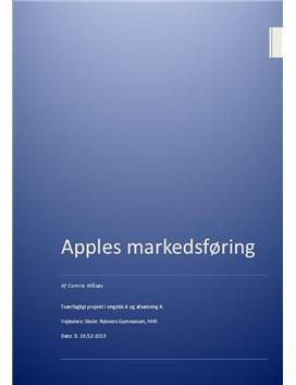 SRO om Apples markedsføring