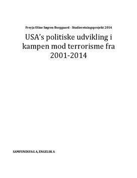SRP om USA's kamp mod terror