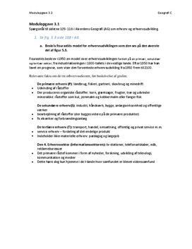 Alverdens Geografi om Erhverv | Modulopgave 3.1