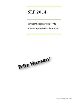 SOP: Virksomhedsanalyse af Fritz Hansen og Fredericia Furniture