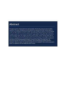 SRP om klimadebatten og de globale klimamodeller