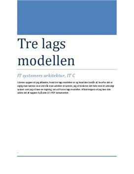 Trelagsmodellen | Informationsteknologi C