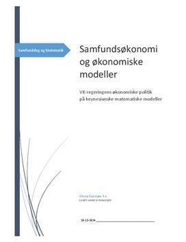 SRP om VK-regeringens økonomiske politik 2006-2010