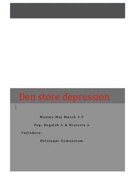 SRP: Den store depression