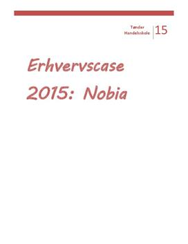 Nobia Danmark A/S | Erhvervscase