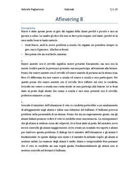 Italiensk A STX eksamen maj 2010