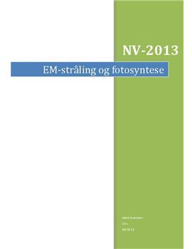 Elektromagnetisk stråling og fotosyntese | NV-rapport