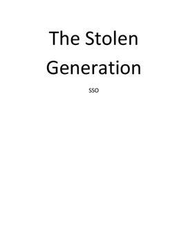 """SSO om Aboriginere i Australien og """"Den stjålne generation"""""""