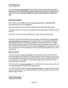 Konkurrentanalyse af Wupti.com - Studienet.dk
