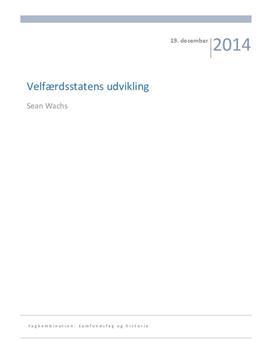 SRP om velfærdsstatens udvikling og finansloven 2015