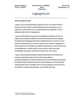 Lagkagehuset | Afsætning maj 2015