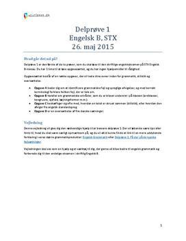 engelsk a stx eksamen