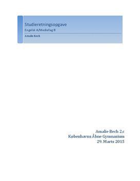 SRO om ungdomskriminalitet | Engelsk A og Mediefag B