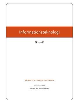 Rapport i Informationsteknologi C om IC Companys
