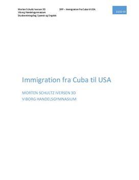 SOP om immigration fra Cuba til USA