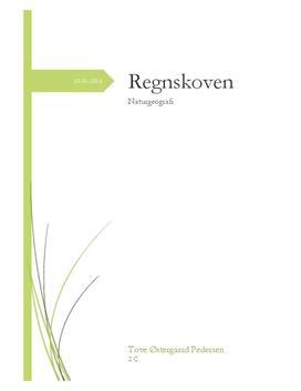 Fældning af regnskov | Rapport | Naturgeografi B