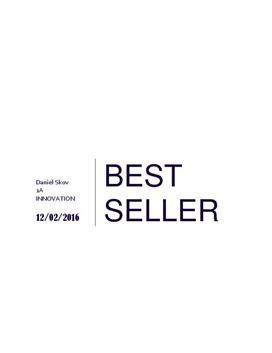 Virksomhedsanalyse af Bestseller | Afsætning A