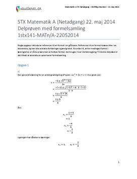 matematik formelsamling stx
