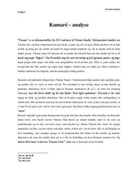 Kumaré af Vikram Ghandi | Dimensionsanalyse