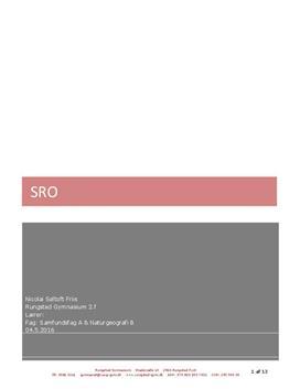 SRO om Islands naturressourcer i Samfundsfag A og Naturgeografi B