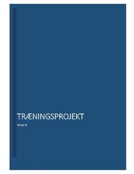 Konditionsforbedring | Træningsprojekt