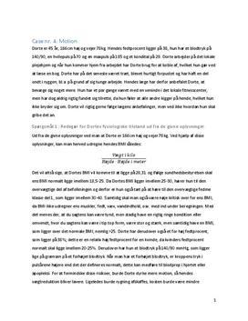 Case om Dortes motion i Idræt B
