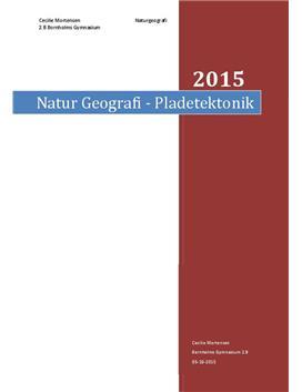 Wegner og pladetektonik | Rapport | Naturgeografi C