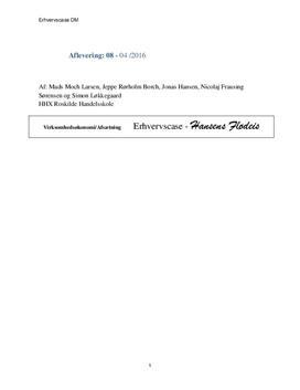 Hansens flødeis | Udfordringer og regnskabsanalyse