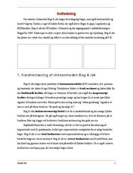 Bog & Idé | Eksamenssæt 27. maj 2016 i Afsætning A