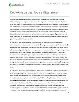 essay om globalisering Globalisering globalisering als verbreding anderzijds niet altijd meer geschikt zijn om inzicht te krijgen in de processen die ik in deze essay onderuit wil.