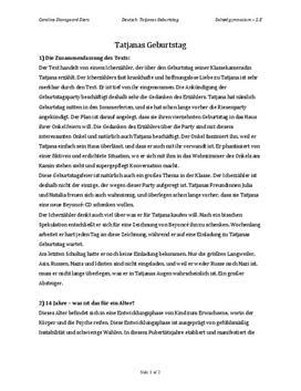 Tschick af Wolfgang Herrndorf | Tatjanas Geburtstag