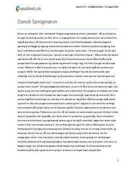 essay gymnasiets sprog