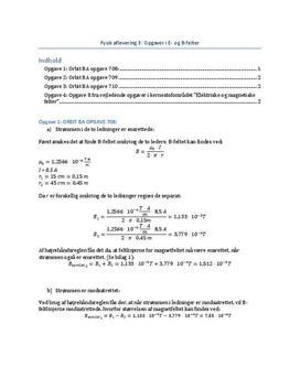 Opgave 708, 709 og 710 om E- og B-felter | Orbit BA