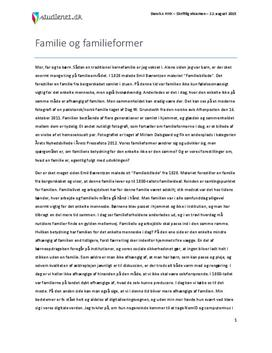 dansk essay opbygning studienet