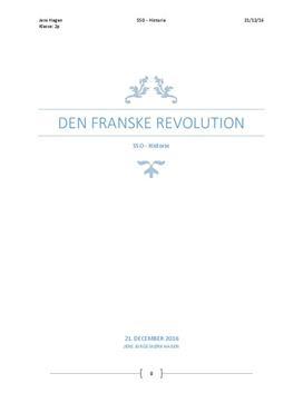 SSO om Den franske revolution