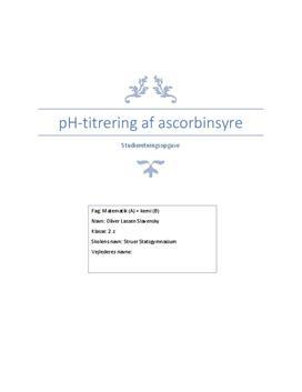 hvad er ascorbinsyre