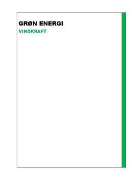 SRP om Grøn Energi