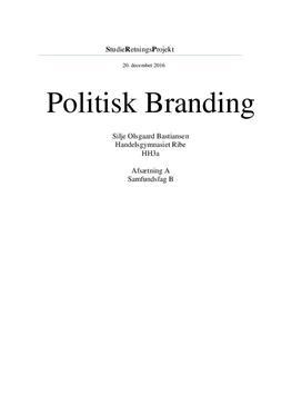 SOP om politisk branding og sociale medier