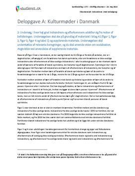 Delopgave A: Kulturmøder i Danmark | Samfundsfag A