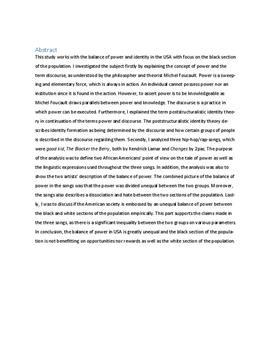 SRP om magtforholdet mellem hvide og sorte i USA | Samfundsfag A og Engelsk A