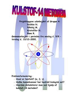 halveringstid for radioaktivt kul