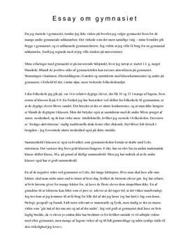 forskellen på essay og kronik