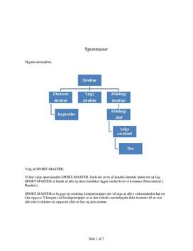 Sportmaster | Analyse