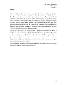 Den Franske Revolution - Årsager og Teorier