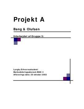 Bang & Olufsens vækststrategi