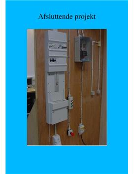 Afsluttende projekt grundforløbet som elektriker